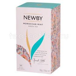 Чай Newby Марокканский чай с мятой 25 шт Индия