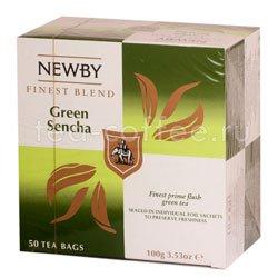 Чай Newby Зеленая сенча 50 шт Китай