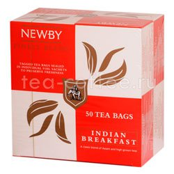 Чай Newby Индийский завтрак 50 шт