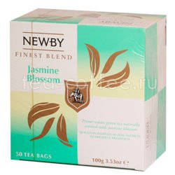 Чай Newby Цветок жасмина 50 шт Китай