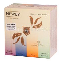 Чай Newby Классик селекшн 48 шт Индия