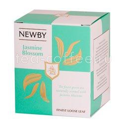 Чай листовой Newby Цветок жасмина 100 гр Китай