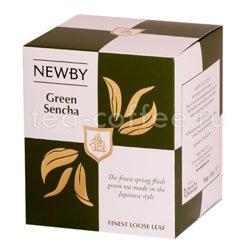 Чай листовой Newby Зеленая сенча 100 гр Китай