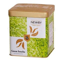 Листовой чай Newby Safari Зеленая сенча 125 гр  (Finest green) Япония