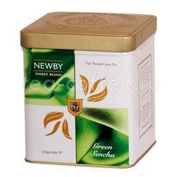 Листовой чай Newby Зеленая сенча 125 гр (Finest blend)