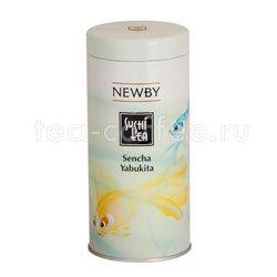 Чай листовой Newby Сенча ябукита суши 100 гр Япония