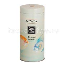 Чай листовой Newby Генмай матча суши 100 гр Япония